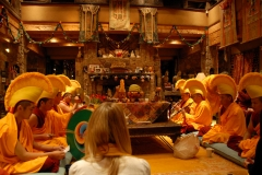 Prayer ceremony for well being of family, friends, and all sentient beings.