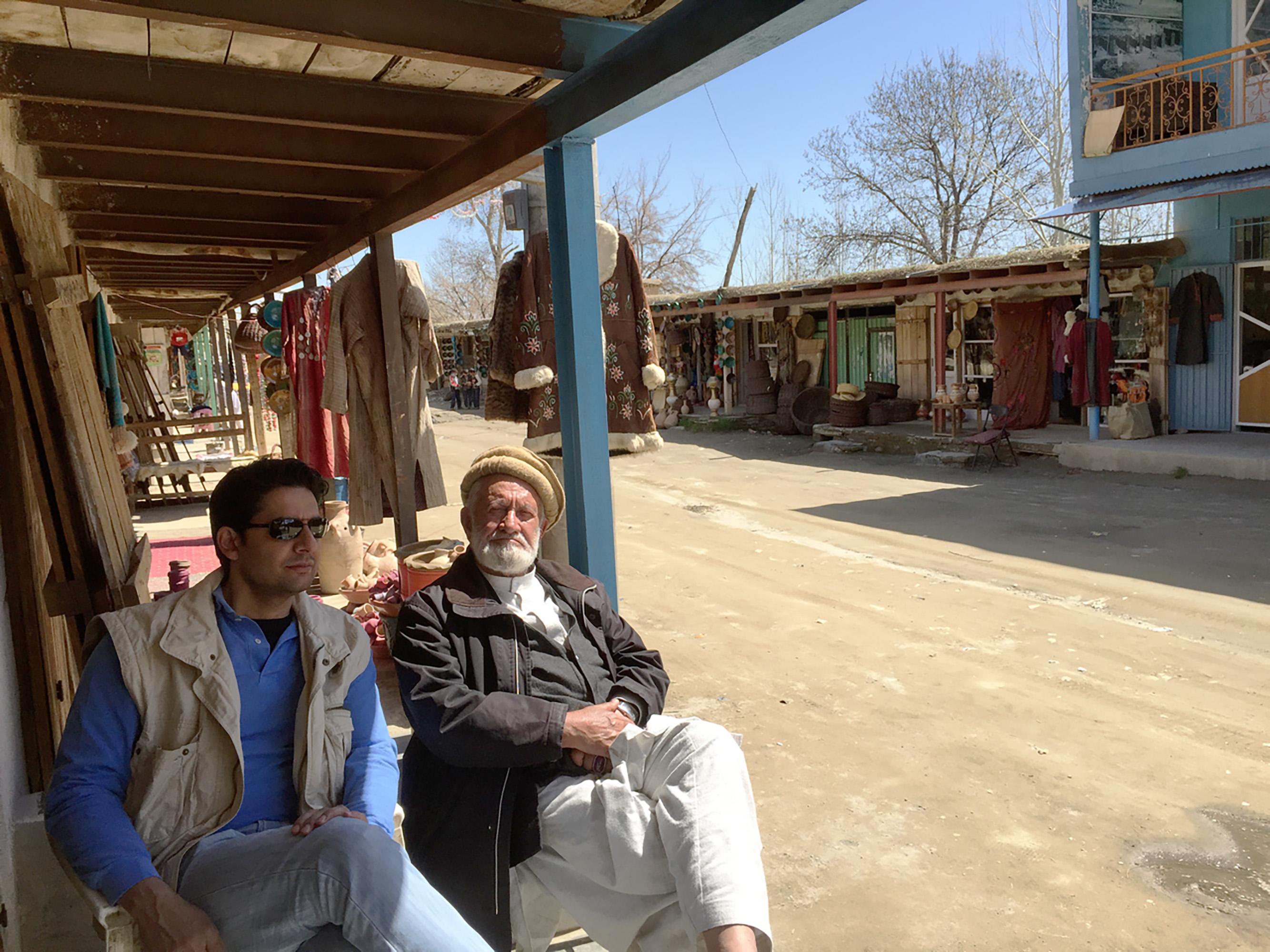 Ali Istalifi and Abdul Istalifi in Istalif Afghanistan