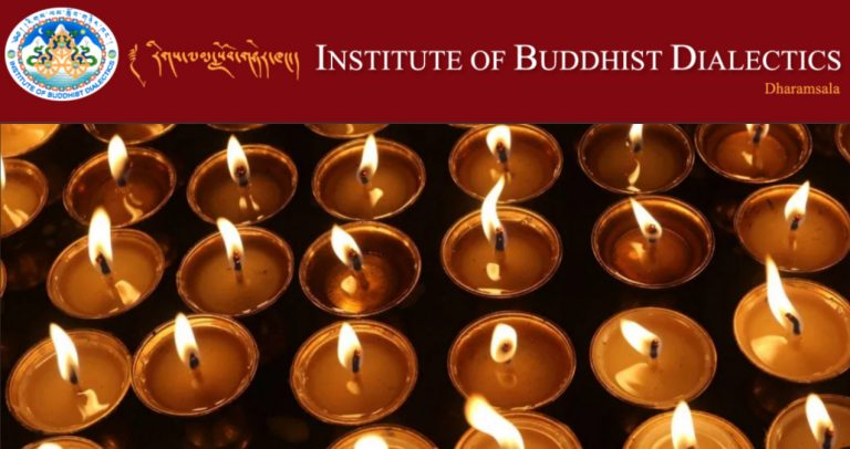 The Jindhag Foundation supports the Institute of Buddhist Dialectics with donations of books, furniture and supplies