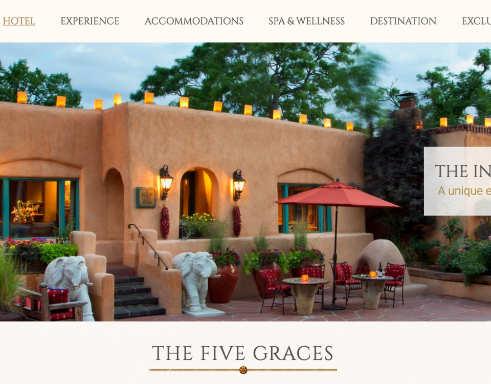 The Inn of The Five Graces - Managing owner Sharif Seret