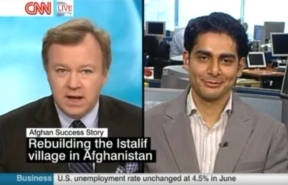 An Afghan Success Story - CNN interview with Ali Istalifi