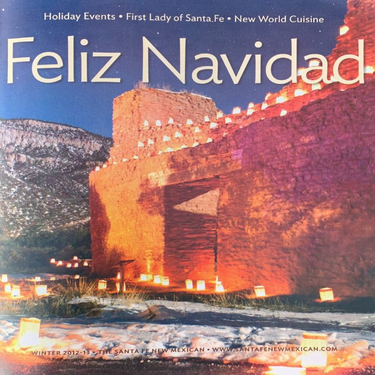 Feliz Navidad Magazine - 2012 Cover