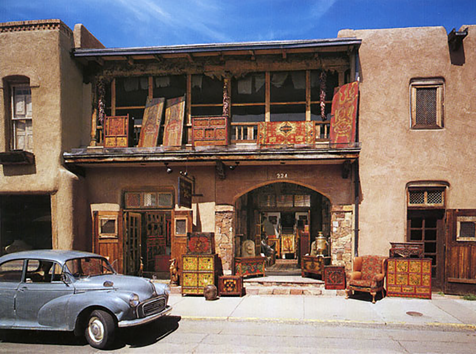 Seret & Sons store front, Santa Fe NM