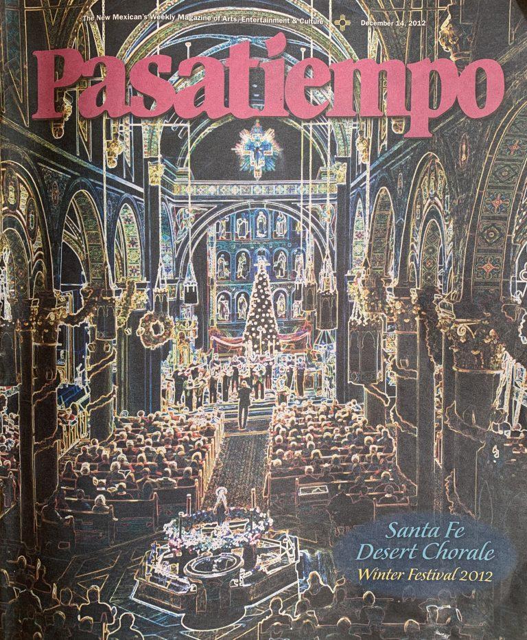 Pasatiempo Magazine - 2012 - Page 1