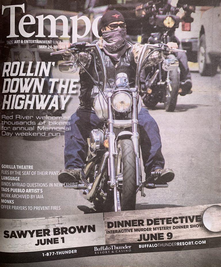 Tempo Magazine Cover - May 2018